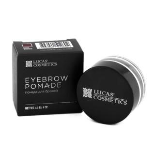 Помада для бровей Brow pomade (dark brown) темно-коричневый, Lucas' Cosmetics